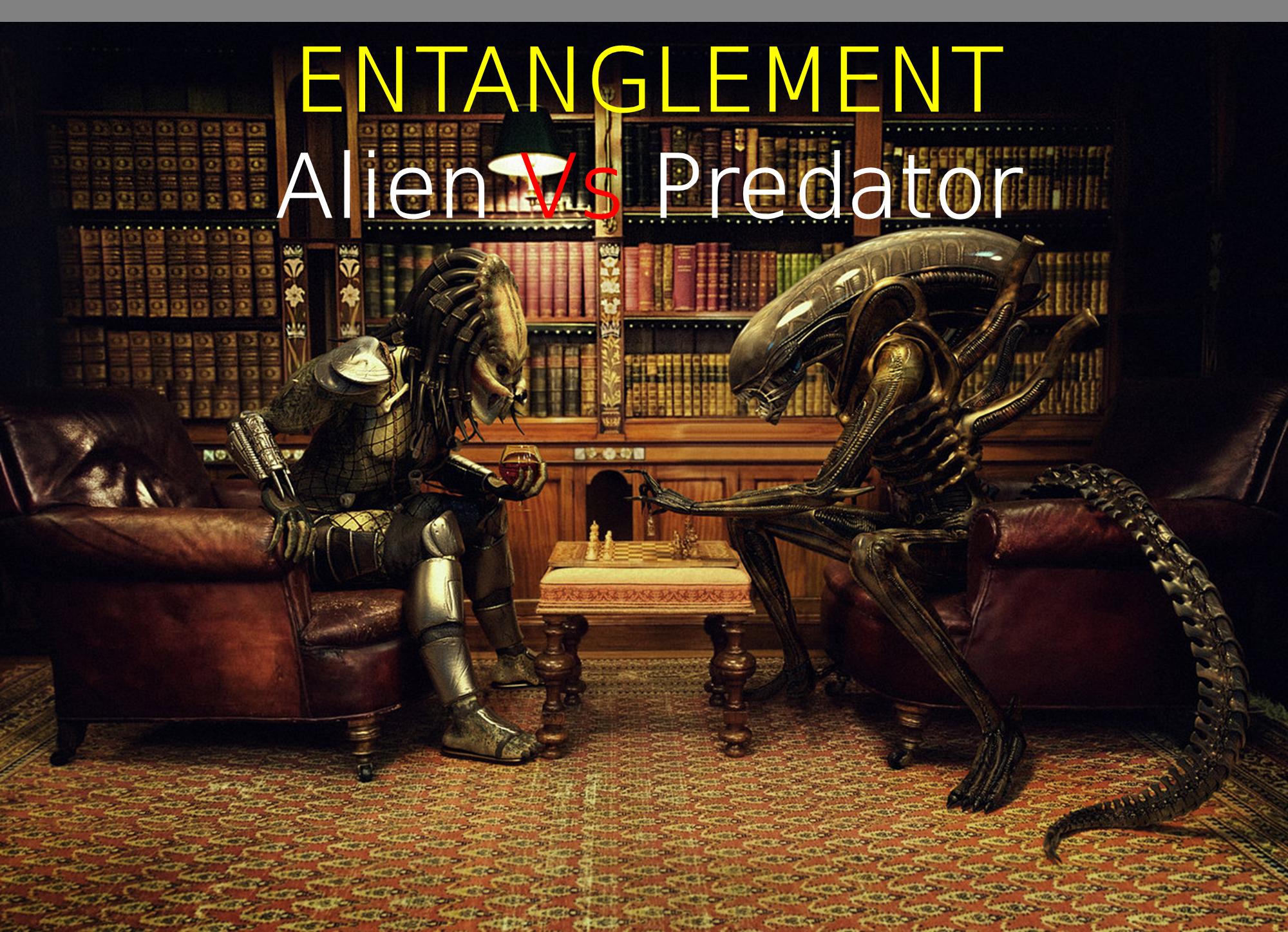 alien and predator relationship