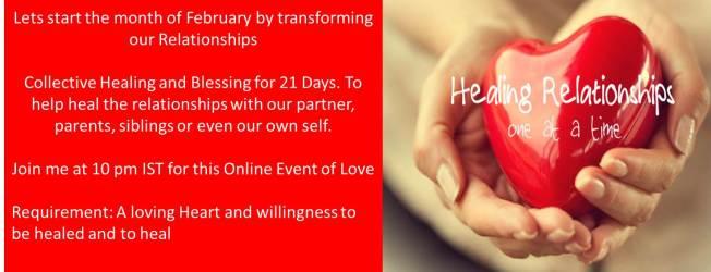 Relationship Healing Online Event