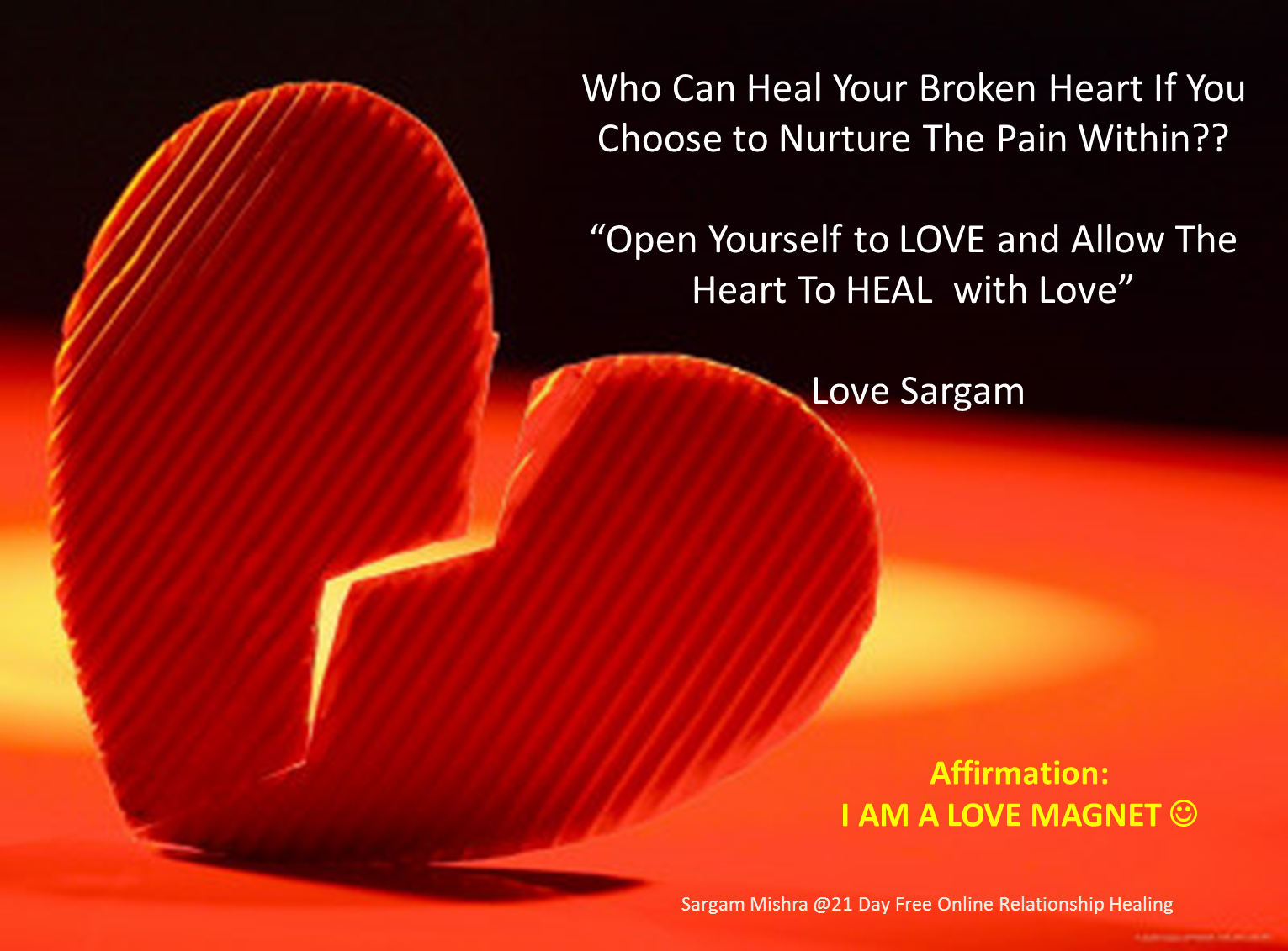 Healing With the Heart