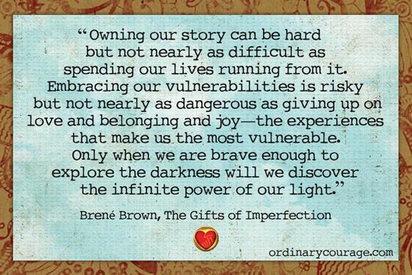 brene brown n vulnerability