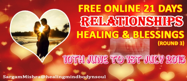 21 Day Free Relationship Healing Round 3