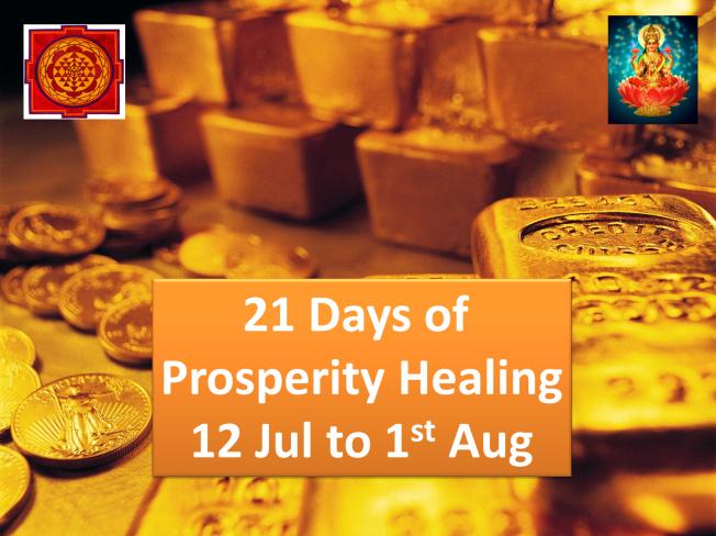 Sargam Mishra 21 Days of prosperity healing