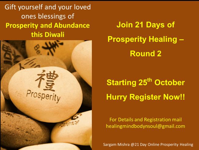 Sargam Mishra Prosperity healing online 2