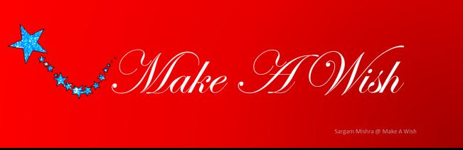 Make A Wish Logo Sargam Mishra