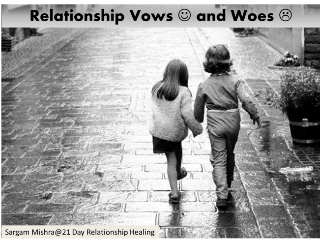 Relationship Vows and Woes Sargam Mishra