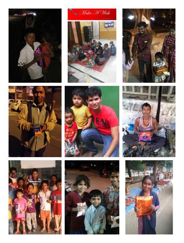 Sargam Mishra Make A Wish collage