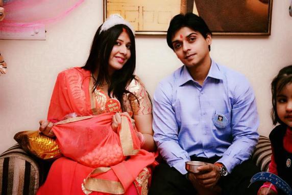 7th Month Blessing Ceremony Sargam Mishra