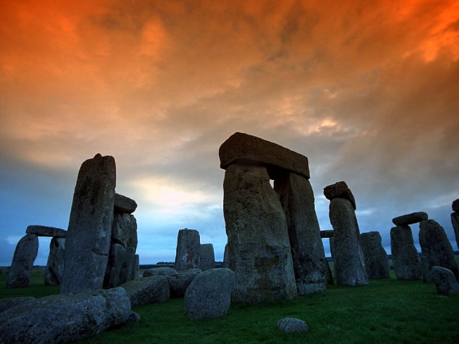 Mighty stones of Stonehenge