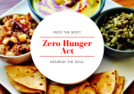 Living A Purpose ! The Zero Hunger Act