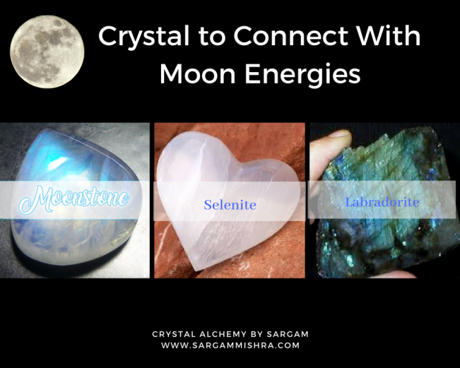Best Crystals for Full Moon rituals Sargam Mishra