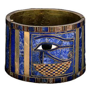 One of the beautiful ways the Egyptians used lapis lazuli