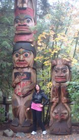 Sargam at Capilano Bridge Vancouver